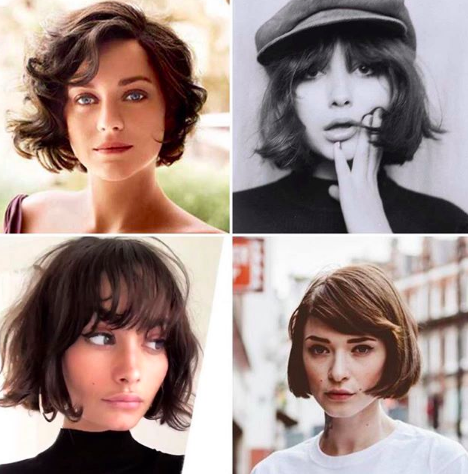 Tousled Bob for Face Shape