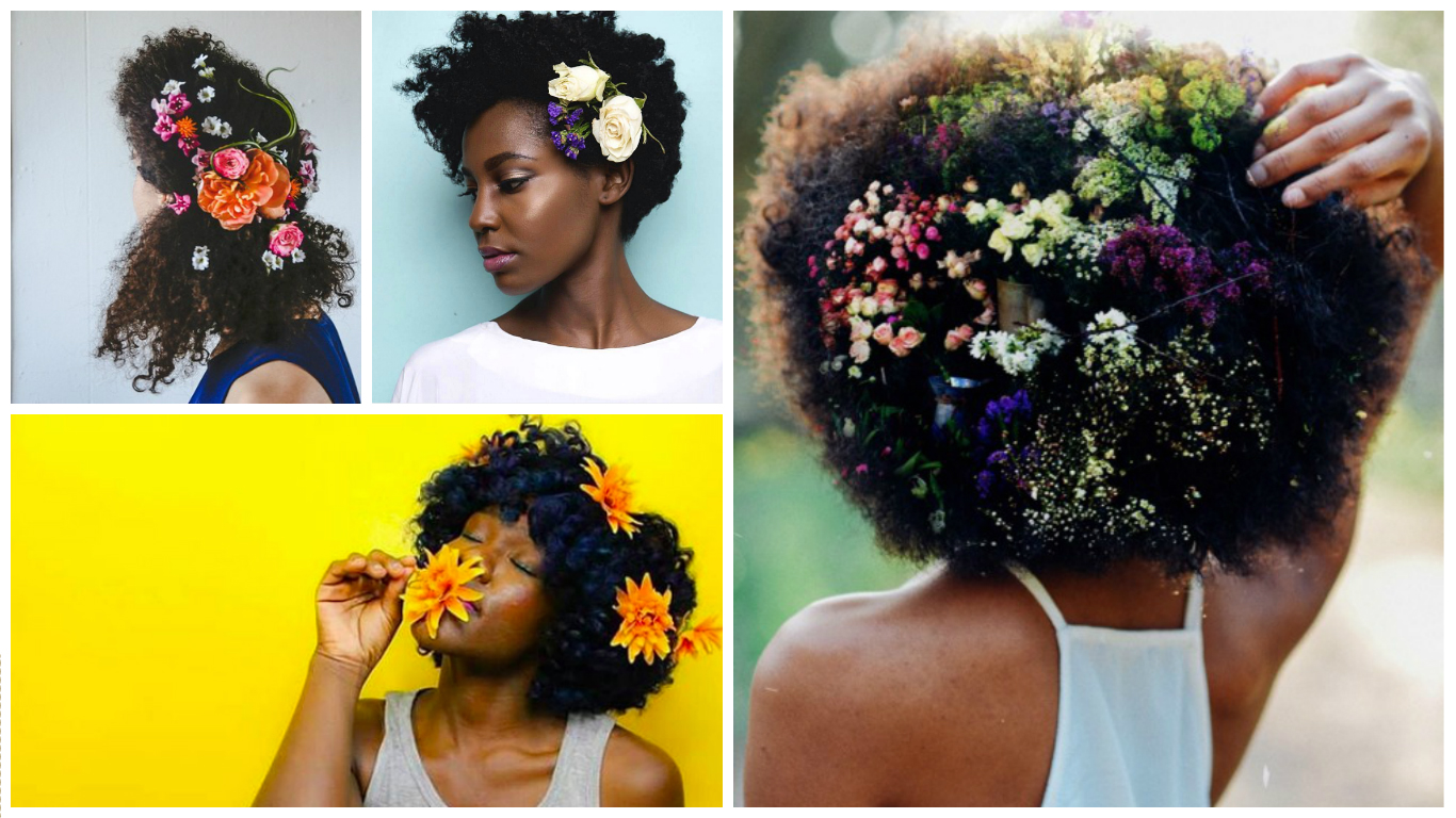 floral afro