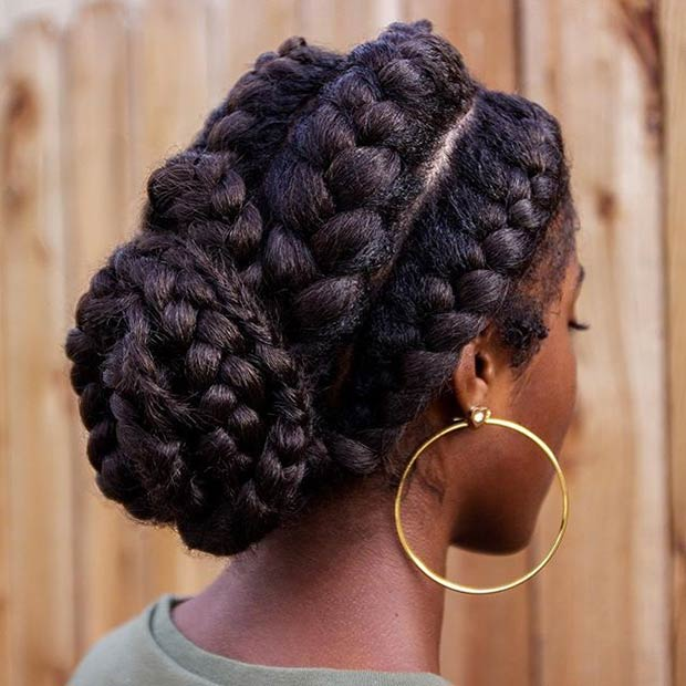 how to make ponytail of straight brazilian weave : ... Fuss-Free Vacation Hairstyles for Natural Hair - Mane Addicts