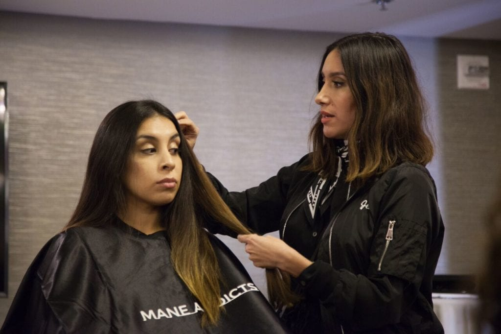 mane university beauty works hair extensions jen atkin sarah conner