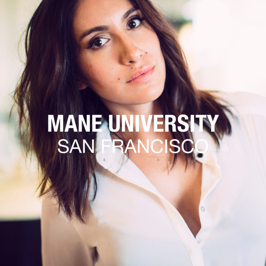 Mane University Jen Atkin Hair Class San Francisco 2017