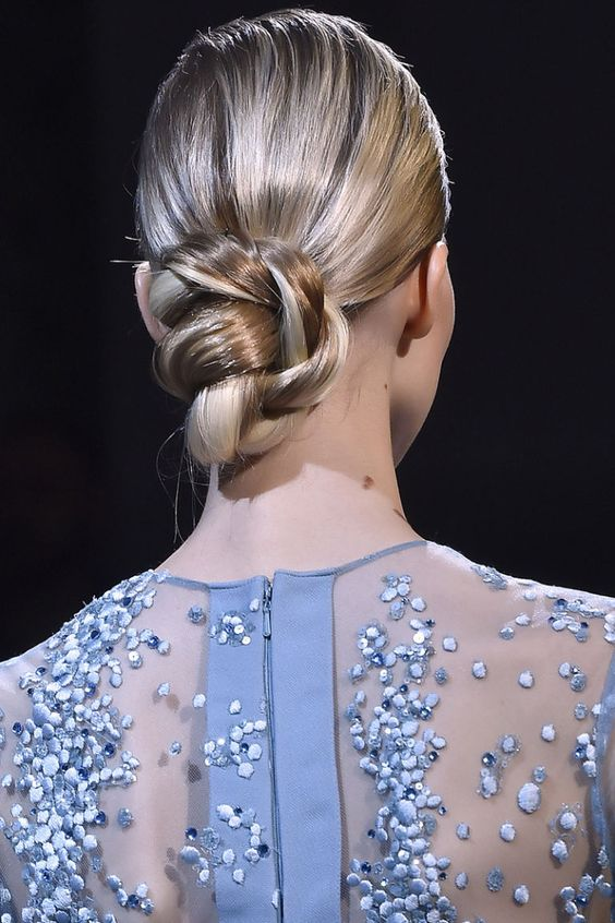 wedding hair harpers bazaar chignon bridal hair