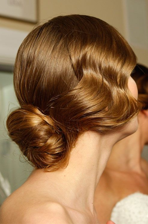 wedding hair chignon bridal hair