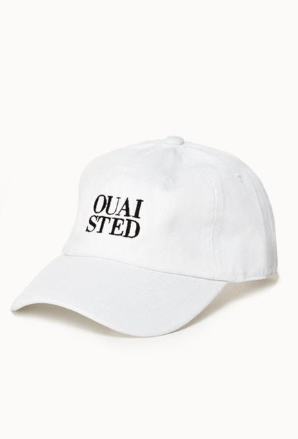 ouai ouaisted dad hat