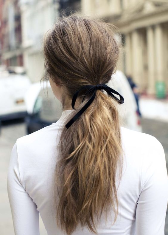 bow hair ribbon hair pinterest cute pinterest hair