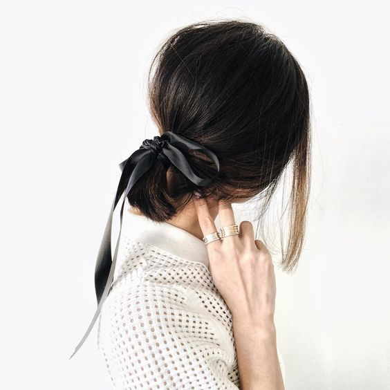 bow hair pinterest chriselle lim cute pinterest hair