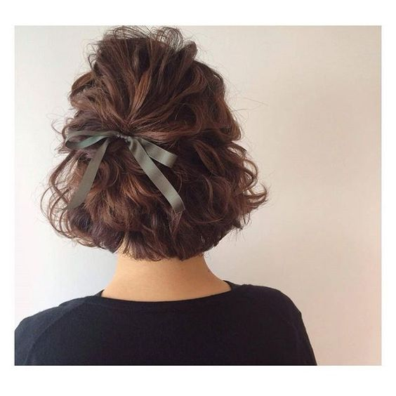 short hair bow pinterest cute pinterest hair short hair