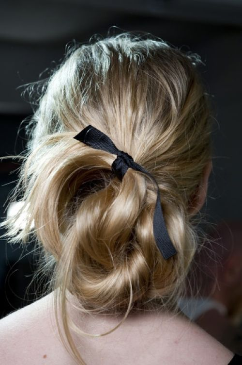 twisted hair bow pinterest ribbon hair