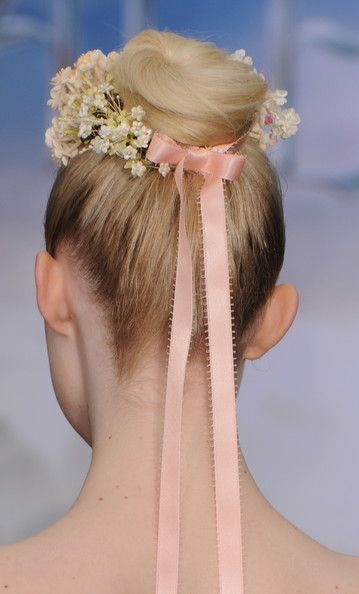 updos from Pinterest pretty updo hairstyles topknot runway hair
