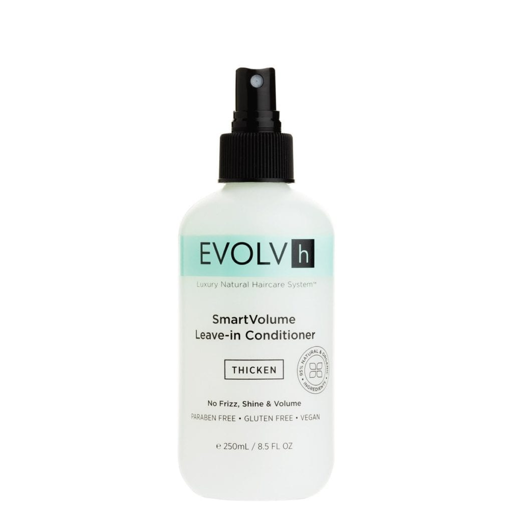 Evolume Smart Volume Leave-In Conditioner, Pumpkin scented hair products