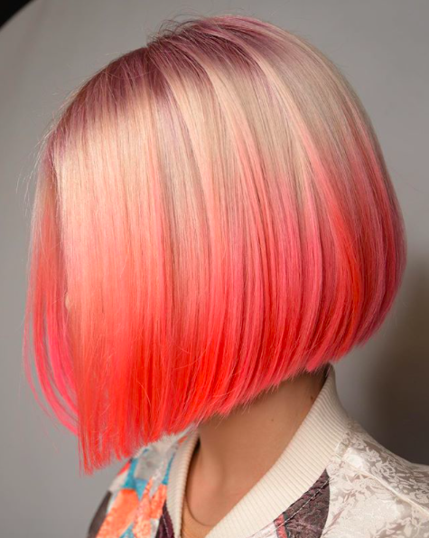 living coral pantone color of the year hair tips megan schipani