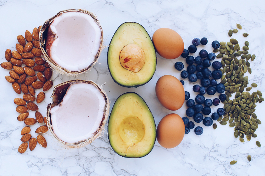Almonds Coconuts Avocados Eggs Blueberries and Pumpkin Seeds Eat These Superfoods For Better Healthier Hair