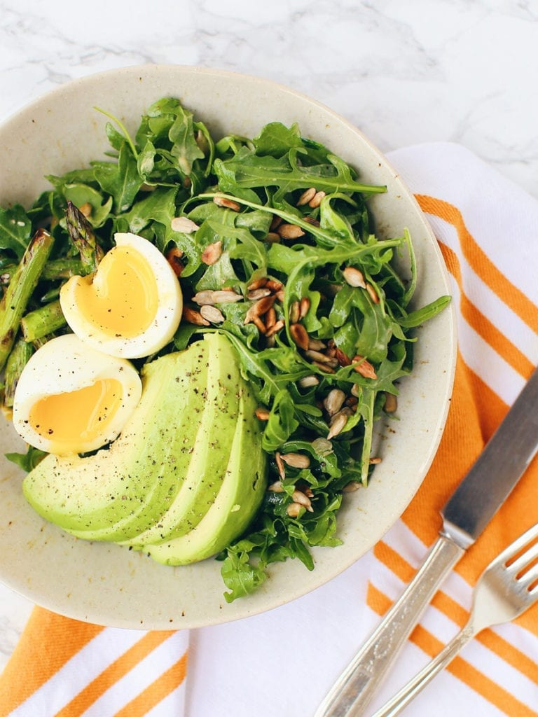 Superfood Salad Recipe For Healthy Hair From The Farah Effect