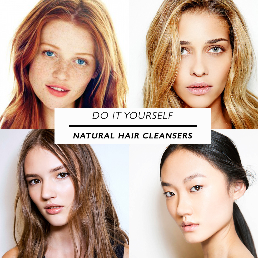 DO IT YOURSELF NATURAL HAIR CLEANSERS