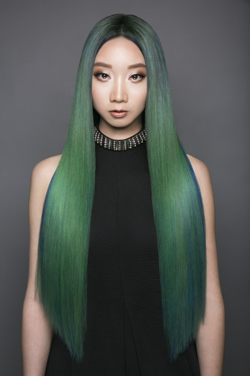 Pravana Hidden Treasure Green Blue Hair