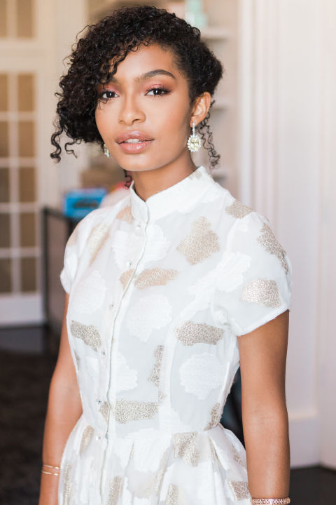 Yara Shahidi Curly Hair by Noel