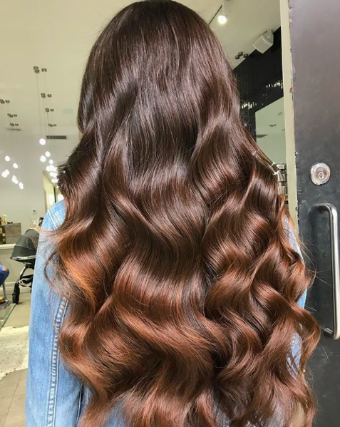 clever instagram captions for brunette hair posts mane addicts adamehair