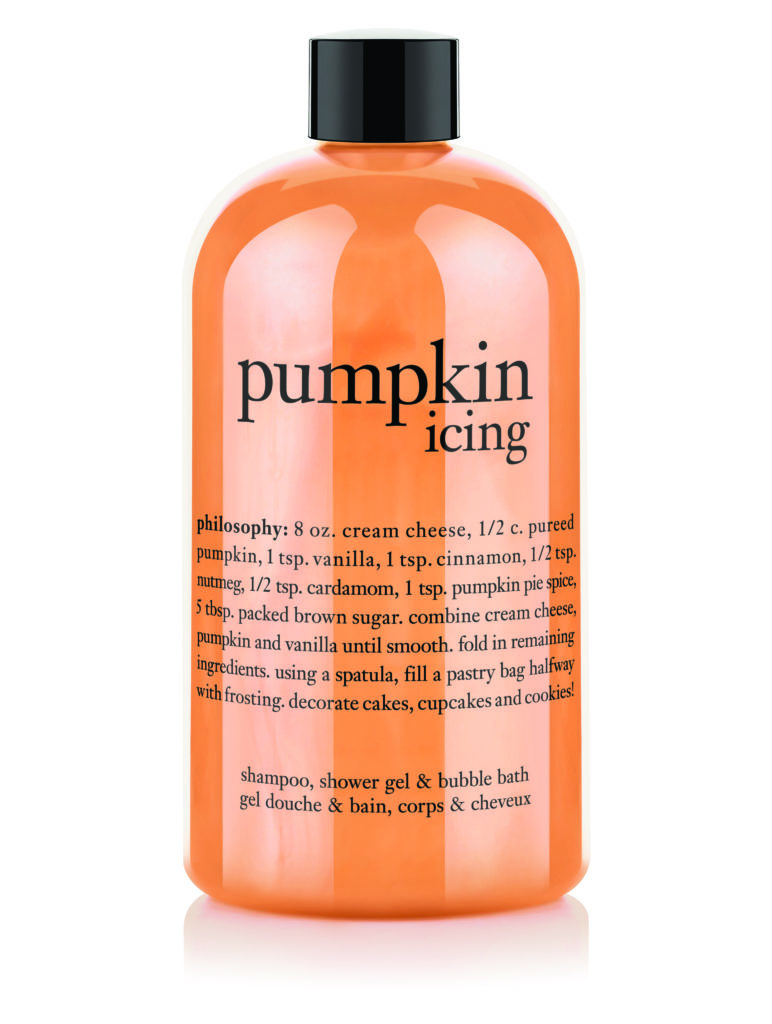 Philosophy Pumpkin Icing 3-in-1, Pumpkin scented hair products