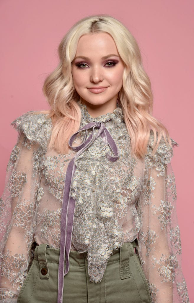 Dove Cameron shoots portraits for Beautycon Festival NYC in 2017