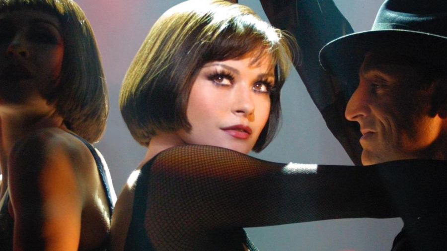 Velma Kelly in the opening dance number of Chicago