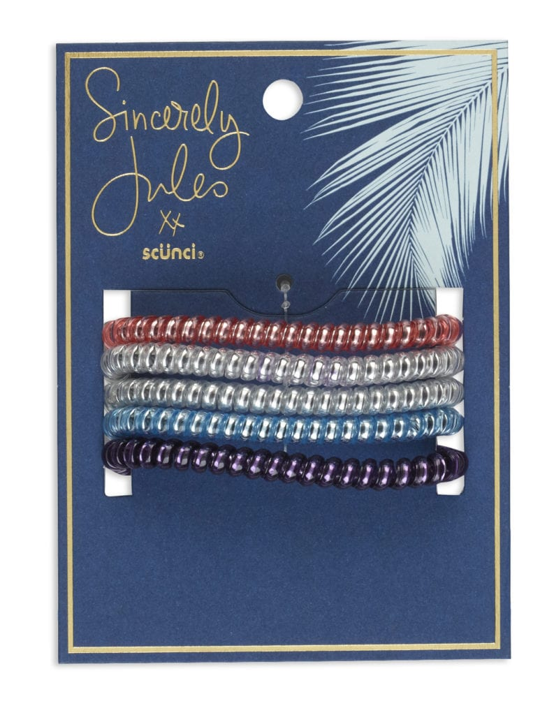 Sincerely Jules x scunci Spiral Hair Ties, 5PK_Packaging