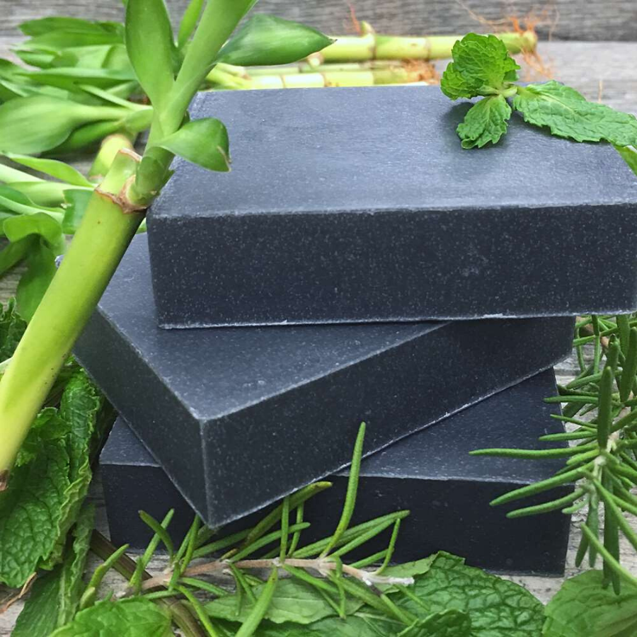 Rosemary Mint Charcoal Shampoo Bar from Chagrin Valley Soap & Salve Co.