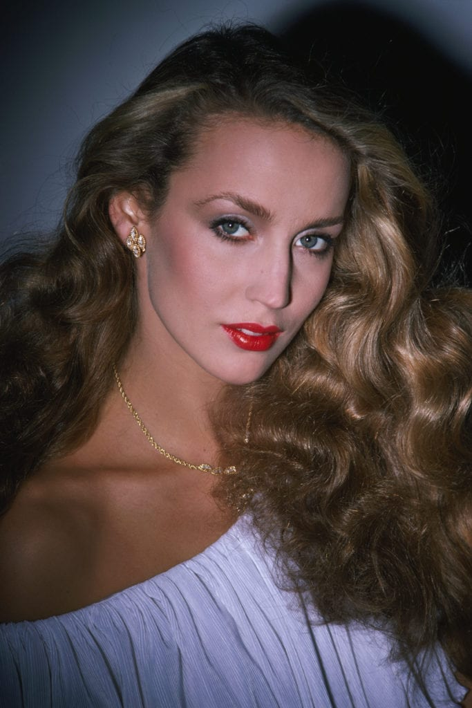 American Fashion Model Jerry Hall