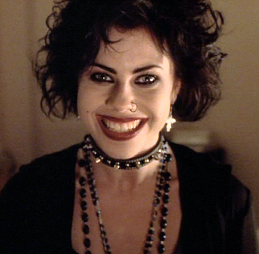 Nancy Downs in The Craft Goth movie hairstyles | Mane Addicts