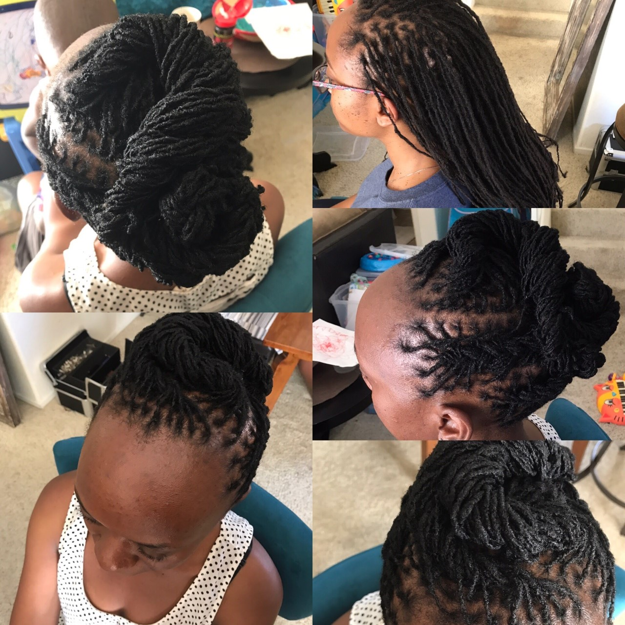 How to Style Microlocs | Mane Addicts