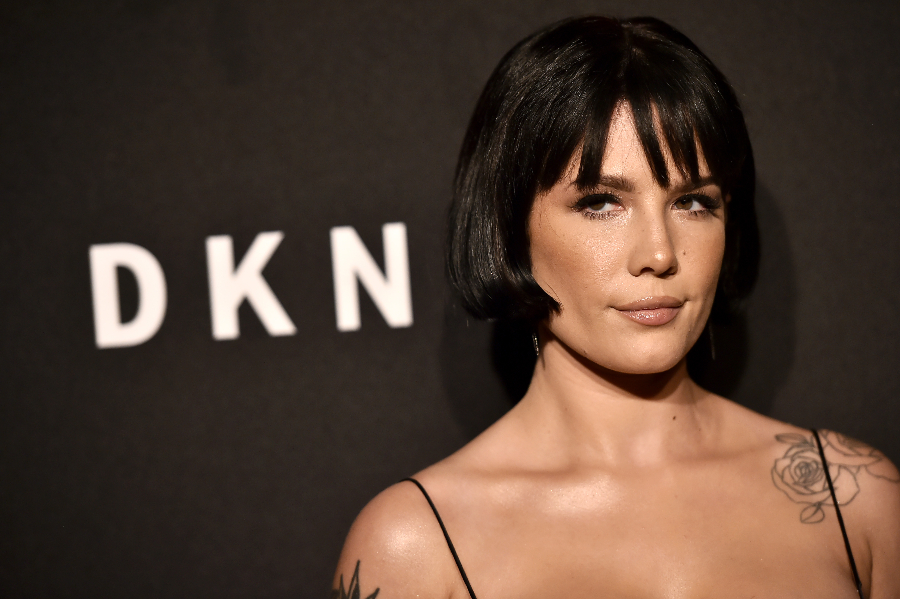 DKNY Celebrates 30th Anniversary NEW YORK, NEW YORK - SEPTEMBER 09: Halsey attends the DKNY 30th Anniversary party at St. Ann's Warehouse on September 09, 2019 in New York City. (Photo by Steven Ferdman/Getty Images)